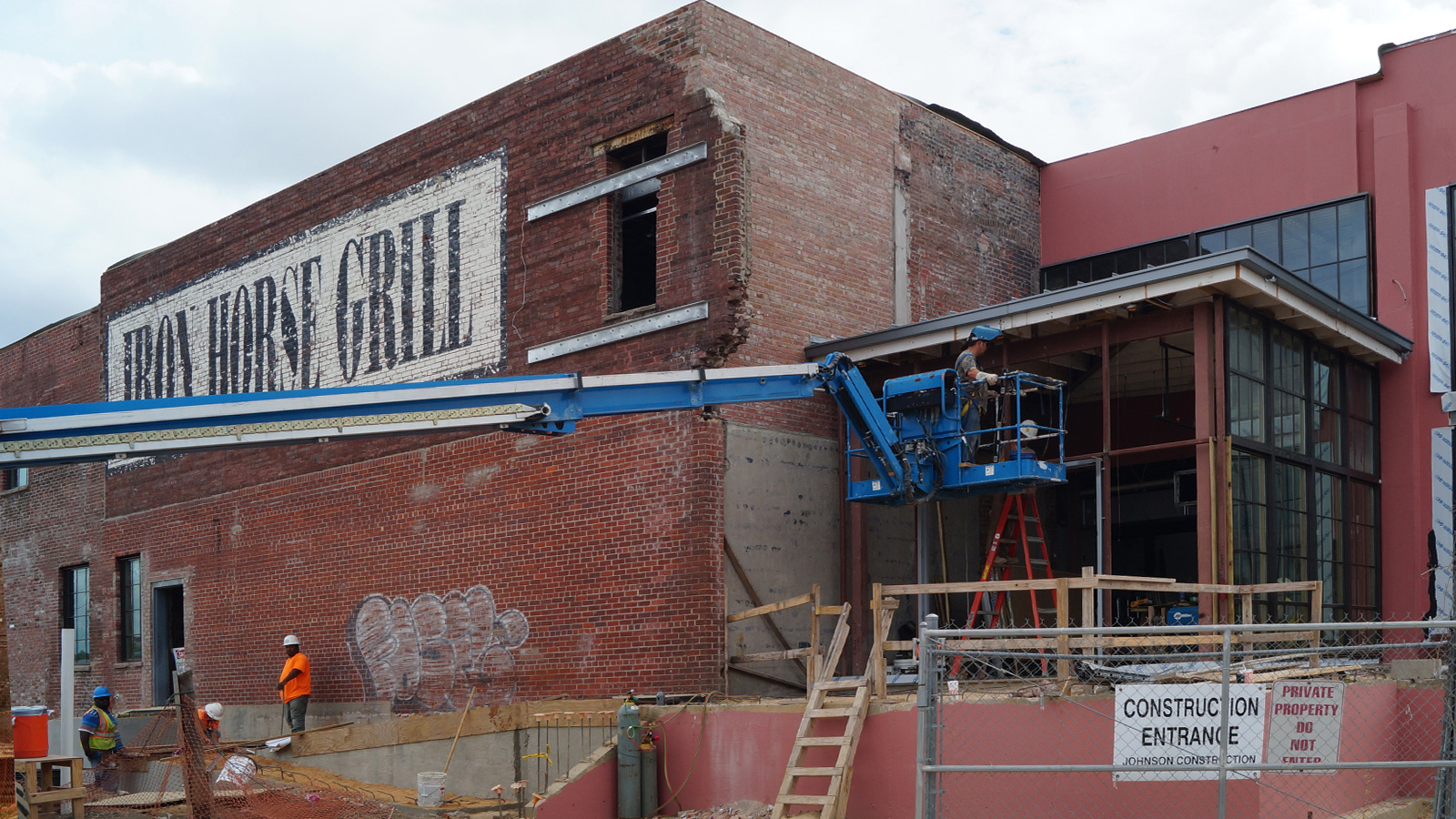 The Iron Horse Grill